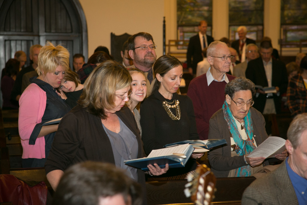 People from all walks of life worship together at Kanawha Presbyterian.