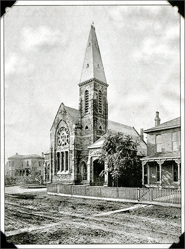 Kanawha Church at the turn of the century.